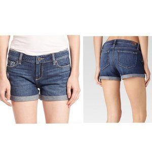 PAIGE Jimmy Jimmy Ares Destructed Shorts